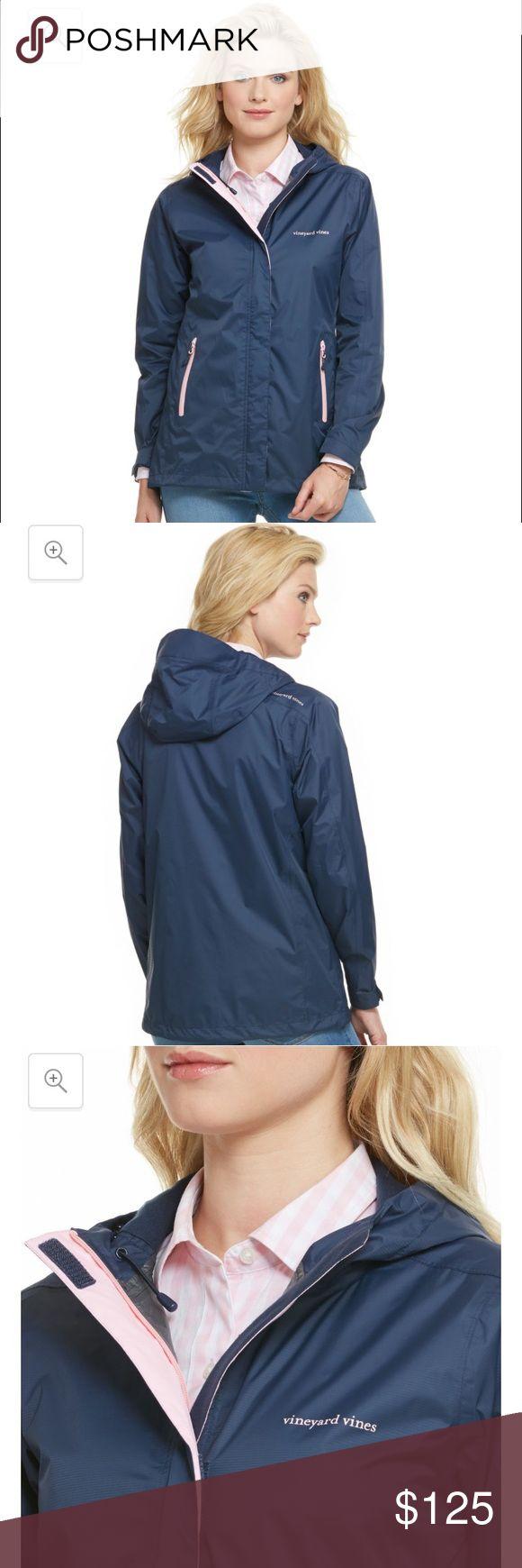 Vineyard vines women's rain coat Brand new without tags Vineyard Vines Jackets & Coats