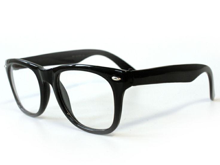 Vintage Nerd Brille ohne Stärke mit UV-Schutz von yourdesignerz auf DaWanda.com