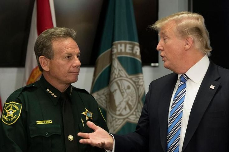 Florida shooting: Donald Trump meets with victims and first responders as Parkland community calls for change