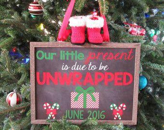 Christmas pregnancy announcement   december due date  new