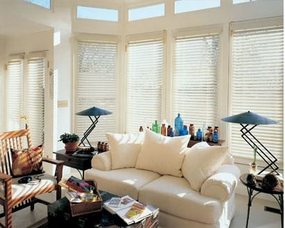 Wooden Blind collection from Luxaflex