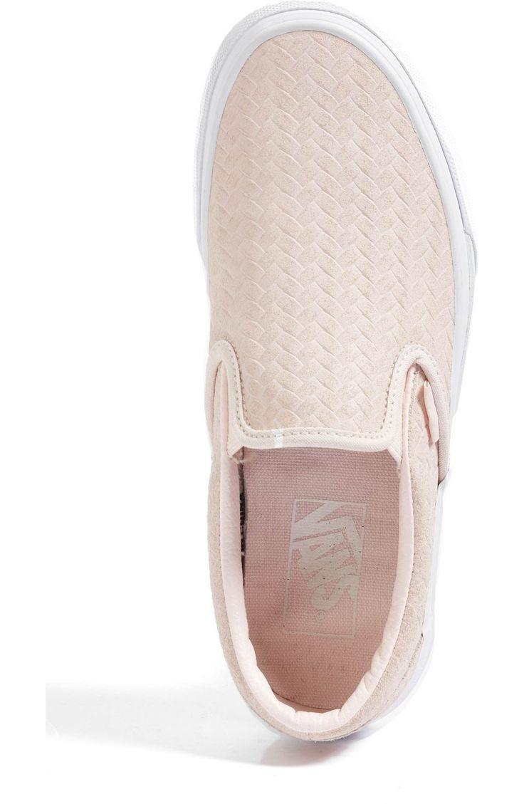 Main Image - Vans Classic Slip-On Sneaker (Women) Rosewater