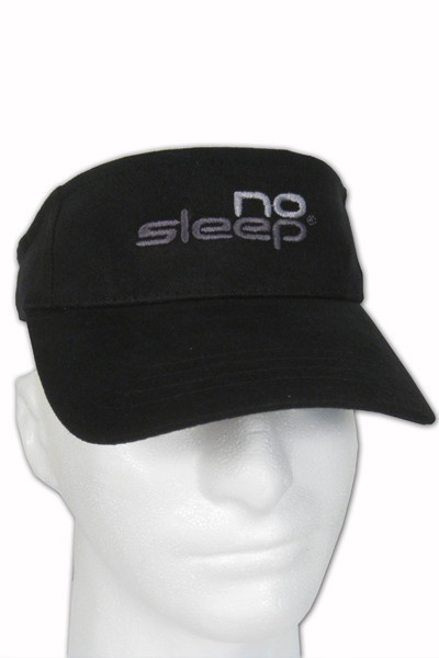 No Sleep Clothing — NS Visor-2012  Show your determination on and off the court with our No Sleep Visor.