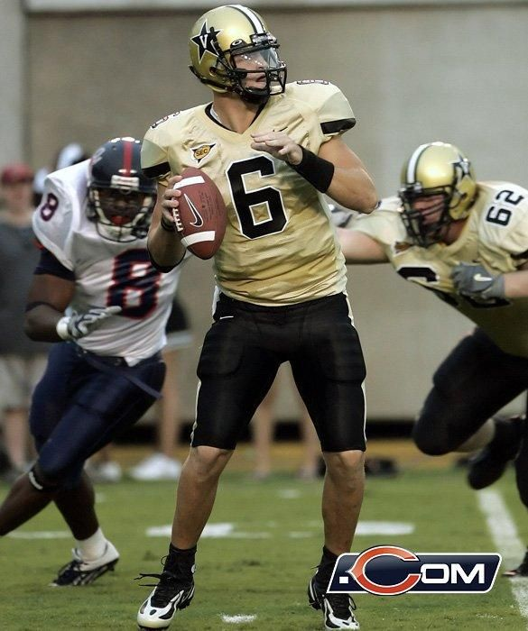 Qb Jay Cutler Vanderbilt College Football Pinterest