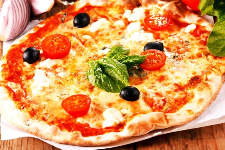 Con TIM Social puoi avere questa pizza con sconti esclusivi a Roma, Milano, Torino e Venezia!