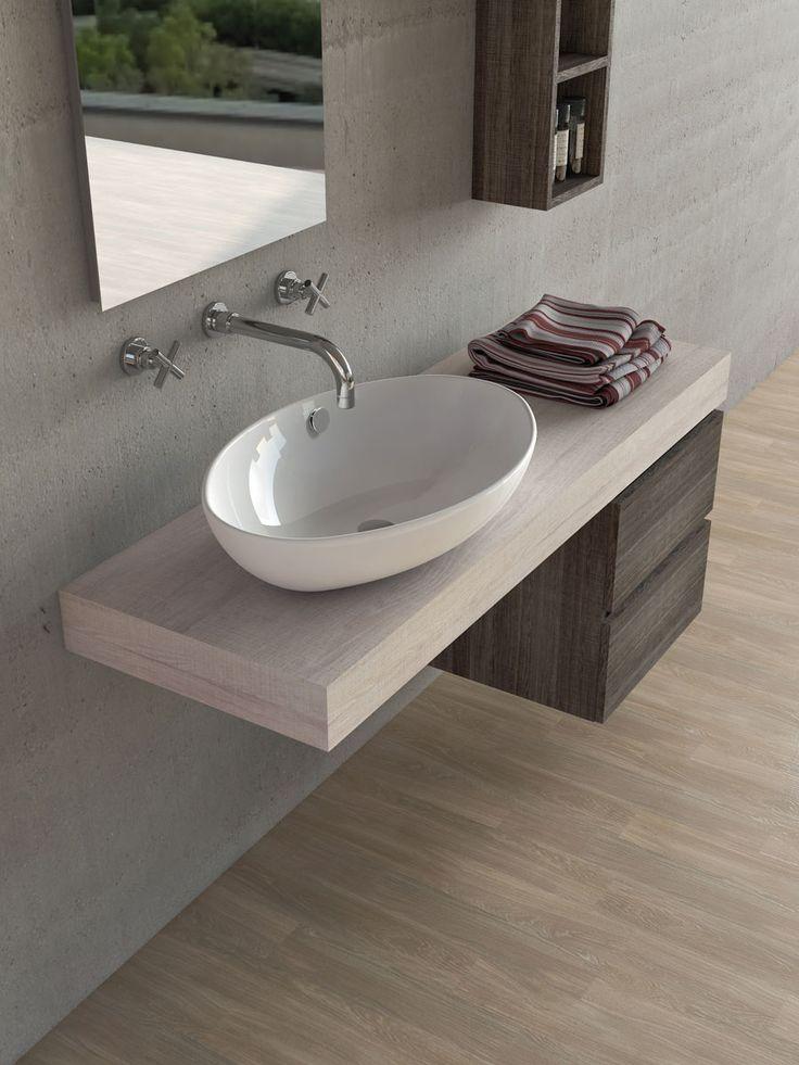 Mobili moderni per il bagno di legnobagno for Mobili componibili bagno
