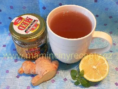 Skořicovo-zázvorový čaj