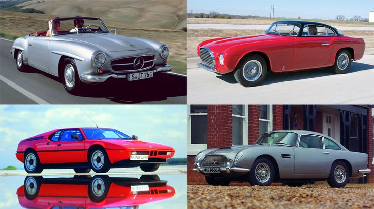 26 slides showing the classic carsyou should have invested in!--Figures released by Classic Trader reveal the cars which have delivered a huge return on investment