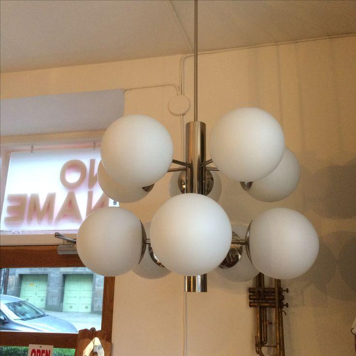 Mid century modern. Sputnik lamp. @nonamevintageshop