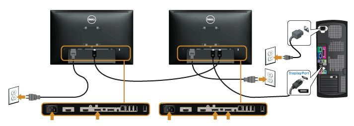 How to Configure U2415 Monitor Daisy Chaining on Intel HD Graphics | Dell US