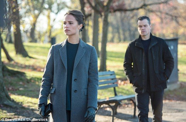 Stars of the show: Alicia and Matt as Heather Lee and Jason Bourne in the…