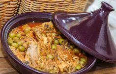 Куриный таджин с оливками
