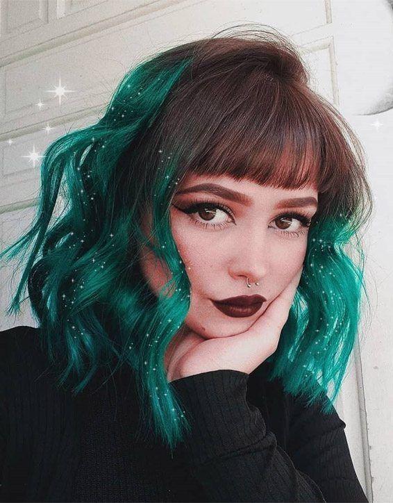 Shoulder Length Hair Highlights Hair Styles Hair Inspo Color Aesthetic Hair
