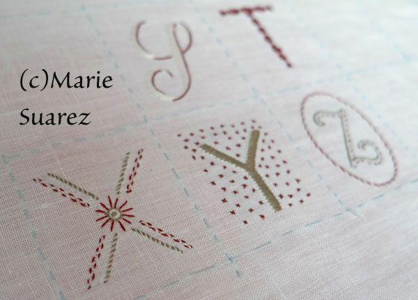 """8ª Etapa de SAL """"brodez avec moi"""" de Marie Suarez Traducida al castellano"""