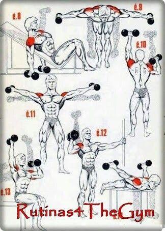 Rutinas para hombro