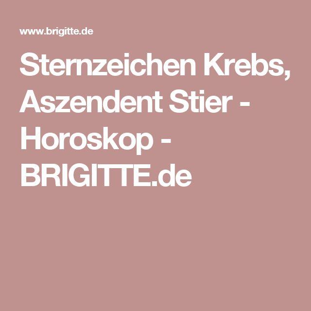 Sternzeichen Krebs, Aszendent Stier - Horoskop - BRIGITTE.de