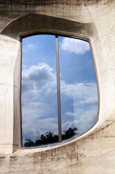 2nd Goetheanum - Detail (window)