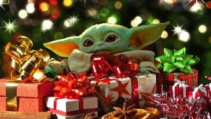 10 Baby Yoda Memes For Christmas Yoda Wallpaper Christmas Toys Kids Christmas