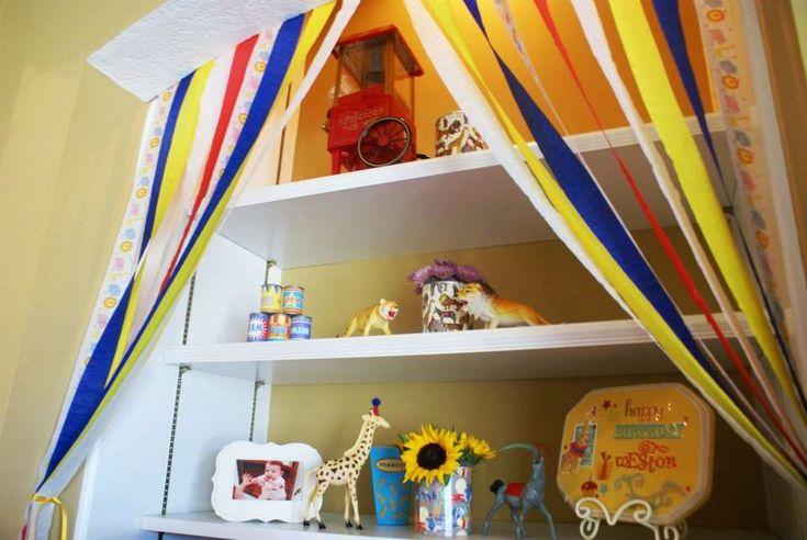 Circus 1st Birthday   CatchMyParty.com
