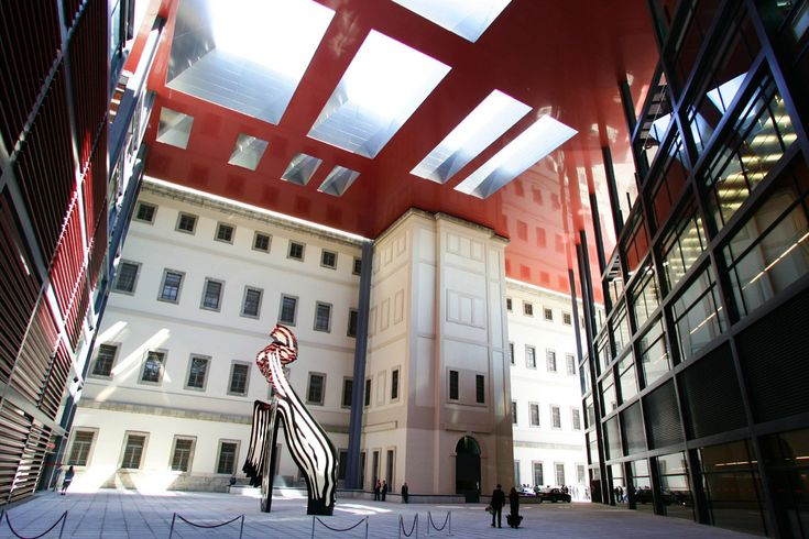 El museo Reina Sofía era en origen un hospital