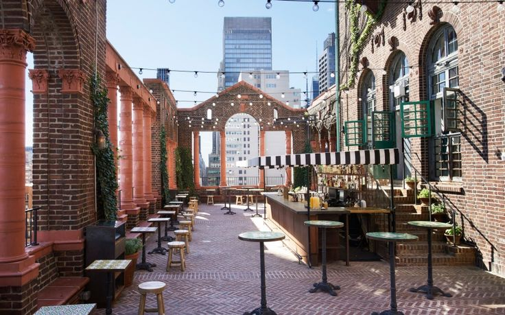 The Rooftop Lounge at Pod 39 - Take a tacos-focused collaboration by Spotted Pig veterans April Bloomfield and Ken Friedman