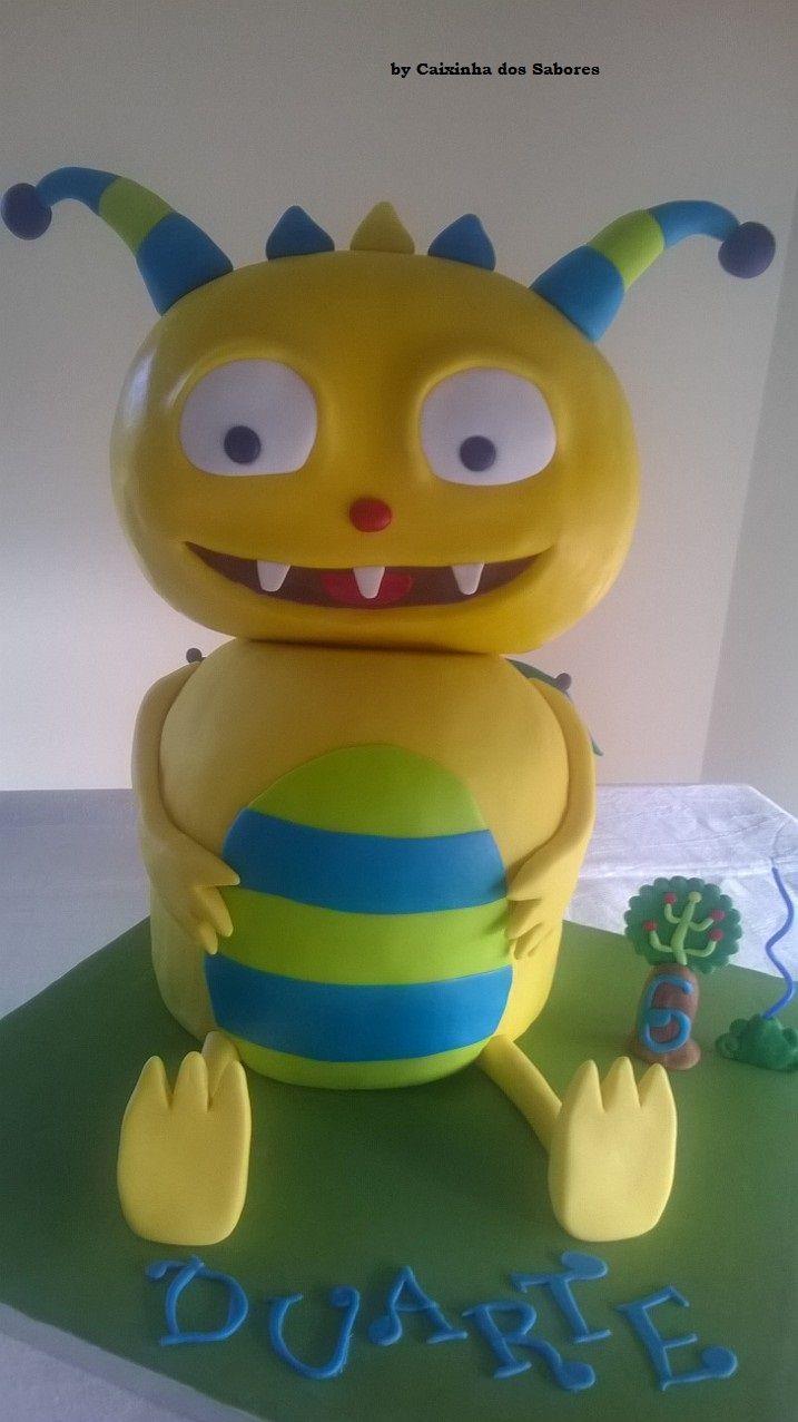 Bolo Henry - O Monstro Feliz