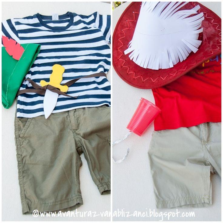 Petar Pan outfit / Captain Hook outfit