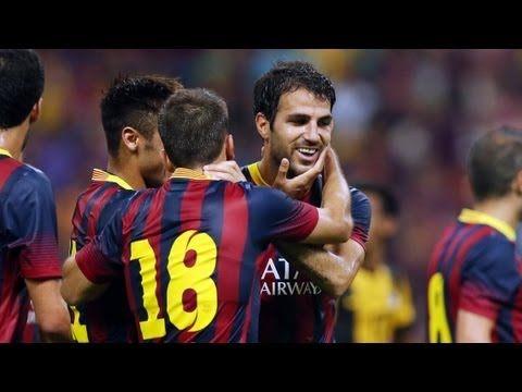 FC Barcelona - Tots els gols de la pretemporada 2013/14