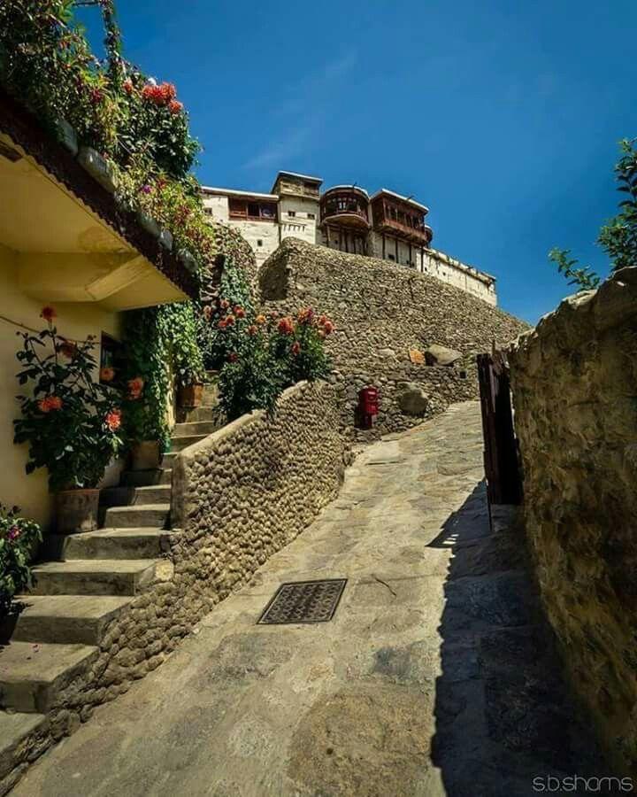 Baltit fort Hunza Valley gilgit Pakistan