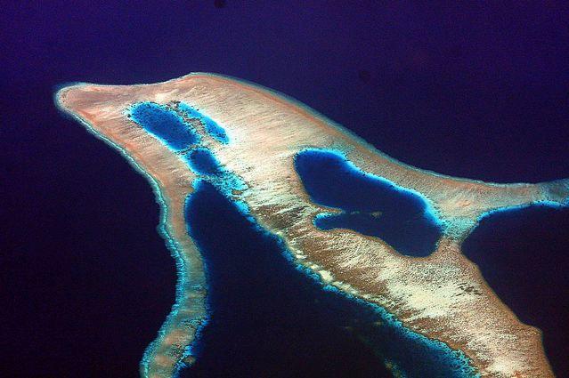Dolphin-shaped Island, Indonesia