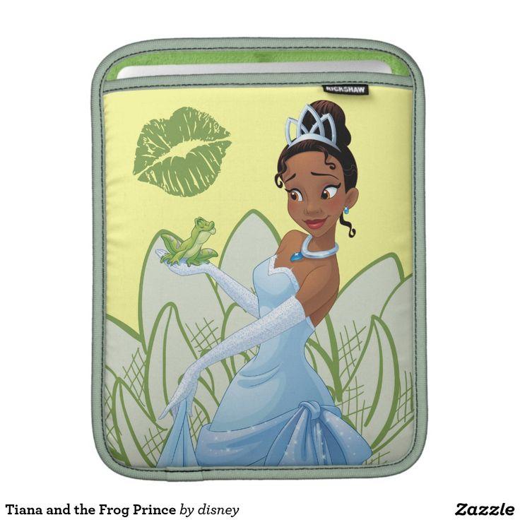 Tiana and the Frog Prince iPad Sleeves