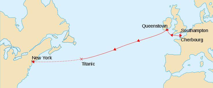 Titanic April 1912 tragic maiden voyage.