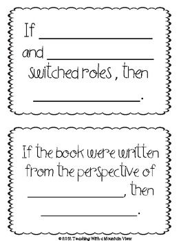 FREE OPEN ENDED QUESTION CARDS FOR HIGHER LEVEL THINKING AND NOVEL COMPREHENSION - TeachersPayTeachers.com