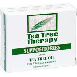 Tea Tree Therapy Suppositories with Tea Tree Oil 6 count per box