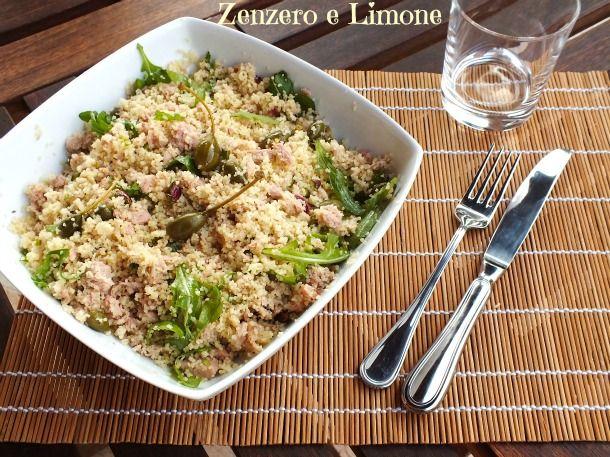 COUS COUS FREDDO | ricetta veloce| Zenzero e Limone