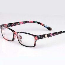 Cool New Fashion Women's Men's Finished Flower Legs Red Myopia Glasses Eyewear-100 -150 -200 -250 -300 -350 -400 6801(China (Mainland))