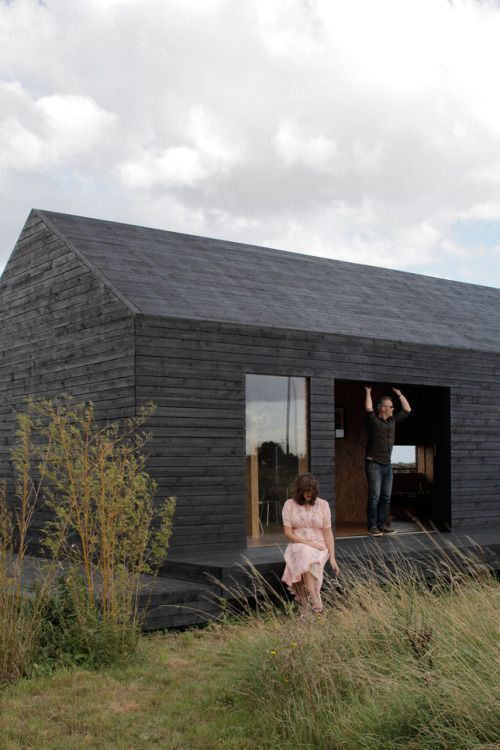 Ochre Barn, Norfolk, England Carl Turner Architects