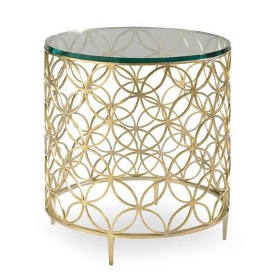 Caracole Classic Contemporary Bubbly Accent Table Discount Furniture At  Hickory Park Furniture Galleries