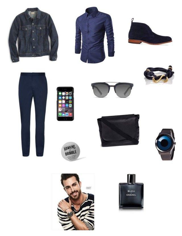 """Sin título #273"" by carolinaramirez-1 on Polyvore featuring J.Crew, La Perla, Grenson, Giles & Brother, County Of Milan, Dolce&Gabbana, Hawkins & Brimble, Meilleur Ami, men's fashion y menswear"
