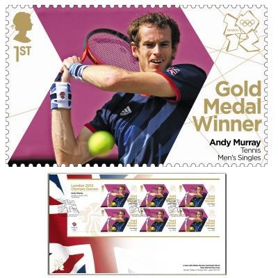 Team GB Gold Medal Winner First Day Cover Overseas - Andy Murray