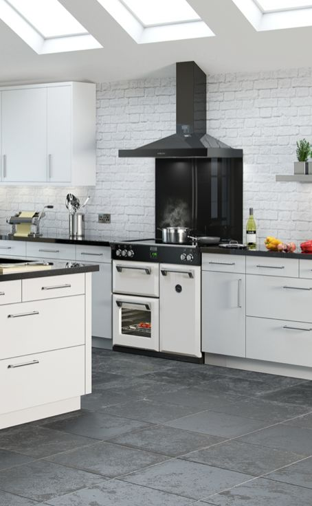 Cooker In Kitchen ~ Images about white range cookers on pinterest