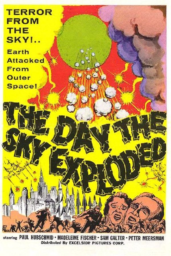 Directed by Paolo Heusch.  With Paul Hubschmid, Fiorella Mari, Madeleine Fischer, Ivo Garrani. Scientists discover that a group of meteors are hurtling on a collison course with Earth, and if they hit, the planet will be destroyed.