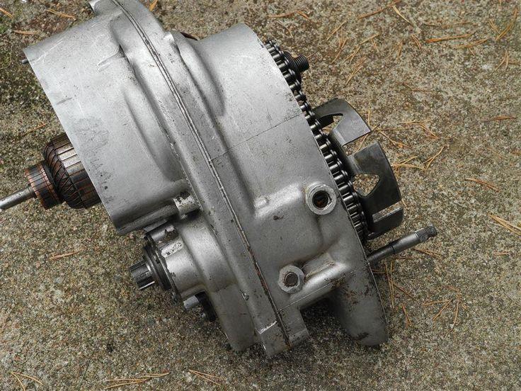 motor DKW RT 250 (200) / motordelar / motorcykelmotor / motorcykel på