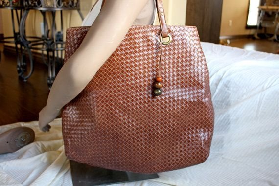 Large Oversized Milk Chocolate Tote by in2purses2010 on Etsy, $19.99
