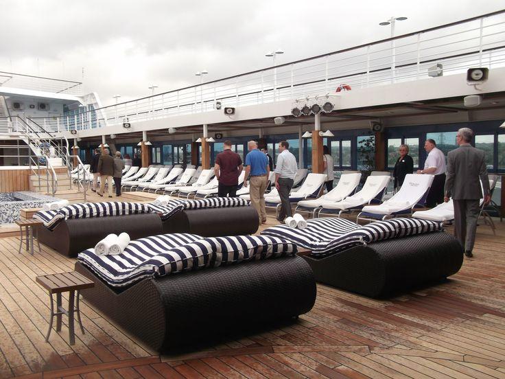 Oceania Cruises - Nautica, Sun Deck