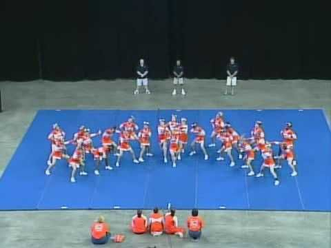 Mauldin High School Cheerleading 05-06 at STATE