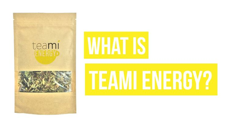 What is Teami Energy? Teami Energy's blend will give you a natural energy boost without the jitters.  To learn more about this delicious blend, watch our video: https://www.youtube.com/watch?v=eoUmDv9O_ok