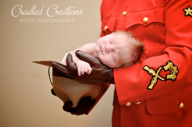 RCMP baby photos. NEWBORN