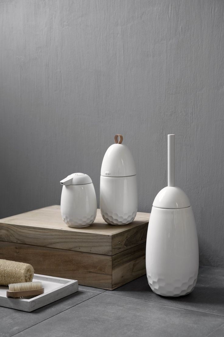 Mellibi bathroom collection designed by FurnID Design Studio for Kähler Design #allgoodthingsdanish spotted by @missdesignsays #danishdesign