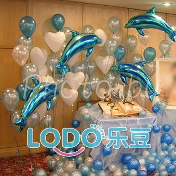 162 best balloons under the sea images on pinterest for Birthday balloon ideas
